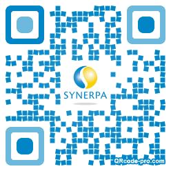 QR code with logo sFV0