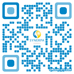QR code with logo sG60