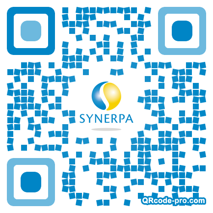QR code with logo sG70