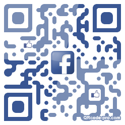 QR code with logo sZT0