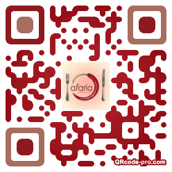QR code with logo shP0