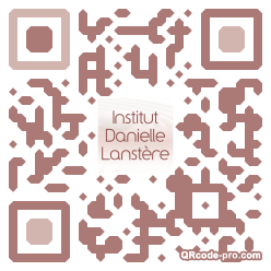QR code with logo si80