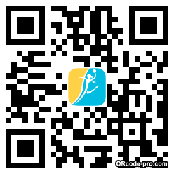 QR code with logo sqN0
