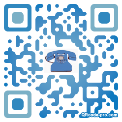QR code with logo sxF0