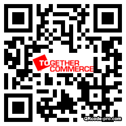 QR code with logo t500