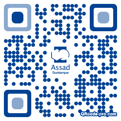 QR code with logo t5g0