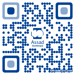 QR code with logo t5j0