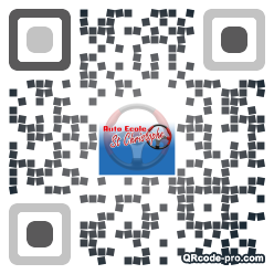 QR code with logo t6T0