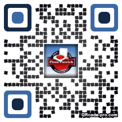 QR code with logo tEN0