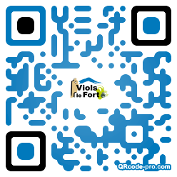 QR code with logo tm60