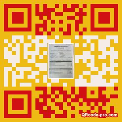 QR code with logo ttU0