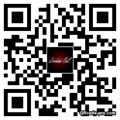 QR code with logo tuO0