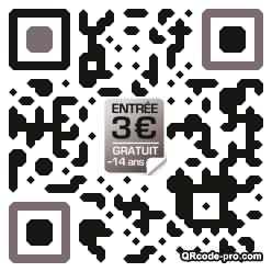 QR code with logo tvd0