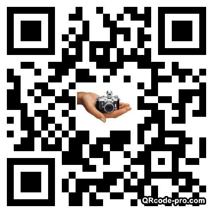 QR code with logo uB50