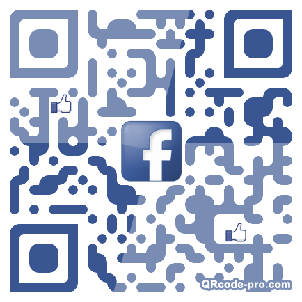 QR code with logo uEr0