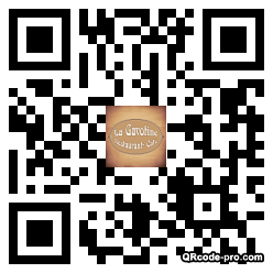 QR code with logo uHb0