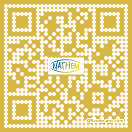 QR code with logo uT90