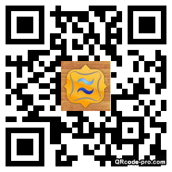 QR code with logo uVD0