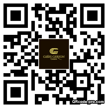 QR code with logo uX10