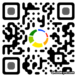 QR code with logo ucI0