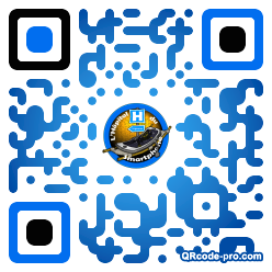 QR code with logo ucN0