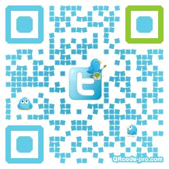 QR code with logo unN0