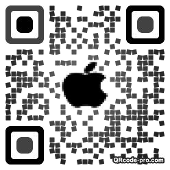 QR code with logo upT0