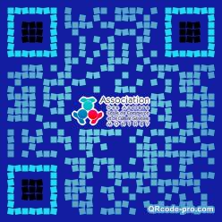 QR code with logo v8i0