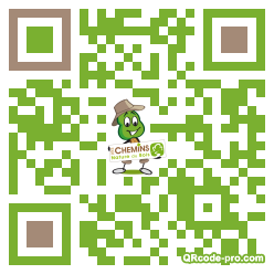 QR code with logo vIN0