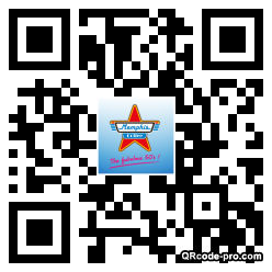 QR code with logo vO00