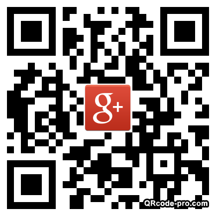 QR code with logo vPa0