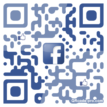 QR code with logo vsM0