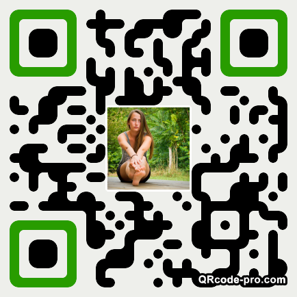 QR code with logo wHJ0