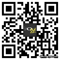 QR code with logo wLo0
