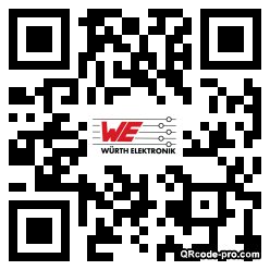 QR code with logo wN50