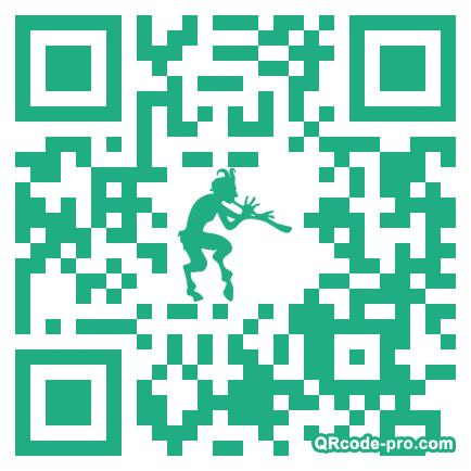 QR code with logo wW90