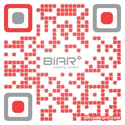 QR code with logo wem0