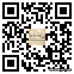 QR code with logo wlb0