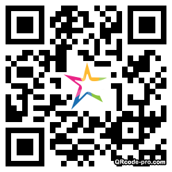 QR code with logo wn10