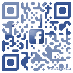 QR code with logo wpf0
