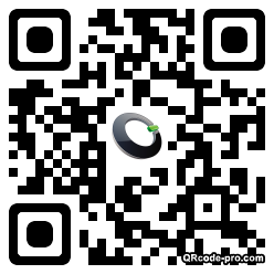 QR code with logo ww70