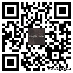 QR code with logo wxo0