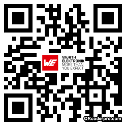 QR code with logo x0T0