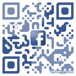 QR code with logo x270