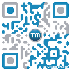 QR code with logo x4A0