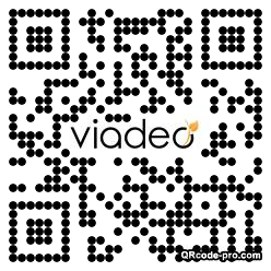 QR code with logo xIa0