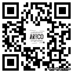 QR code with logo xJT0
