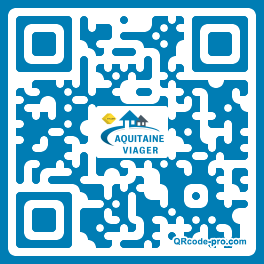 QR code with logo xLo0