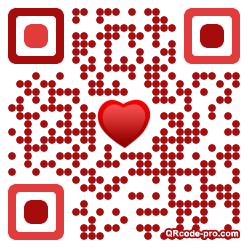 QR code with logo xPo0