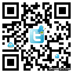 QR code with logo xRM0